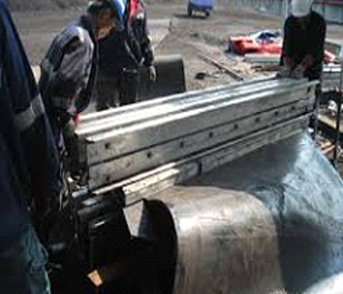 Conveyor belt patching and vulcanizing services
