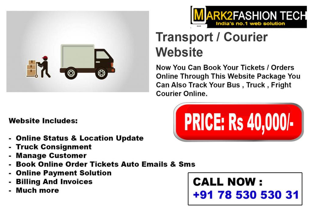 Transport/ Courier  Websites
